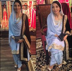 #pintrest@Dixna deol Punjabi Salwar Suits, Punjabi Dress, Designer Punjabi Suits, Patiala Suit, Indian Designer Wear, Salwar Kameez, Mom Outfits, Cute Outfits, Fashion Outfits