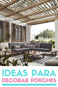 Precious Tips for Outdoor Gardens - Modern Outdoor Lounge, Outdoor Spaces, Outdoor Living, Outdoor Decor, Rooftop Terrace Design, Living Room Entertainment Center, Pergola Designs, Pergola Ideas, Roof Design