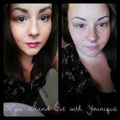I did this beauts face today   I love her face anywho buy my golly the eye shadow (pigments and Splurge) looked amazing with natural light hitting her face  It all looked awesome and katie loved it so I'm totally happy.   If you want to know what I used on Katies face just give me a message.   Younique make up www.youniqueproducts.com/lipsstandout
