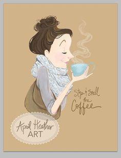I always smell coffee amazing mmmmm good: