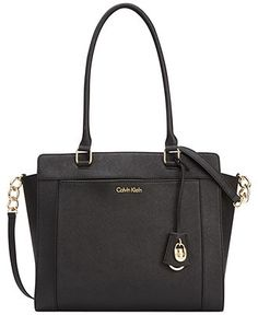 Calvin Klein Modena Saffiano Tote - Calvin Klein - Handbags & Accessories - Macy's