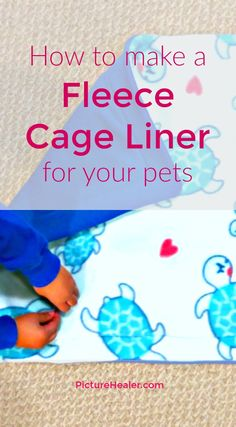 How to sew a fleece cage liner for small pets — Picture Healer - Art and craft tutorial, Chinese herbal wellness, Feng Shui design tips # small Pets How to sew a fleece cage liner for small pets — Picture Healer - Feng Shui, Craft & Art, Chinese Medicine Diy Guinea Pig Cage, Guinea Pig House, Pet Guinea Pigs, Guinea Pig Care, Pet Pigs, Skinny Pig, Guniea Pig, Guinea Pig Bedding, Sewing Hacks