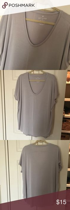 American Eagle Soft + Sexy Tee 🚫PAYPAL  🚫TRADES ❤️BUNDLES ✨USE THE OFFER BUTTON   📦FAST SHIPPER 💕SHARE THE LOVE American Eagle Outfitters Tops Tees - Short Sleeve