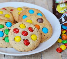 Ellouisa: M&M cookies Mnm Cake, Cookie Recipes For Kids, Caramel Icing, M M Cookies, Carrot Cake, Quick Easy Meals, Kids Meals, Oreo, Favorite Recipes