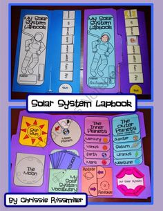 Risultati immagini per lapbook sistema solar Second Grade Science, Middle School Science, Space Activities, Science Activities, Science Classroom, Teaching Science, Teaching Tools, Teaching Kids, Make A Solar System