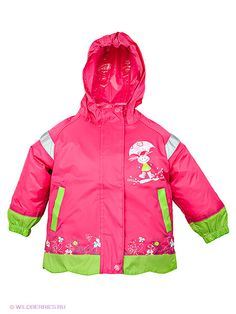 infant girl outerwear hot pink-green