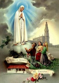 Sanctuary of Our Lady of Fatima Where Our Lady appeared to the three Little Shephercd