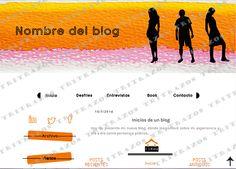 """""""Diseño de blog"""" en venta - Ref. """"Moda2"""""""
