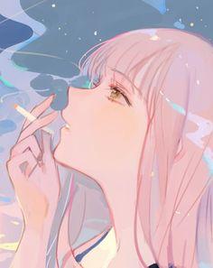 Pretty Art, Cute Art, Anime Side View, Side View Drawing, Avatar, Artist Alley, Anime Sketch, Manga Drawing, Anime Art Girl