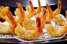 Γαρίδα Τηγανιτή Christmas Appetizers, Best Appetizers, Appetizer Recipes, Appetizer Ideas, Coconut Prawns, Coconut Shrimp Recipes, Asia Food, Breaded Shrimp, Chili Sauce