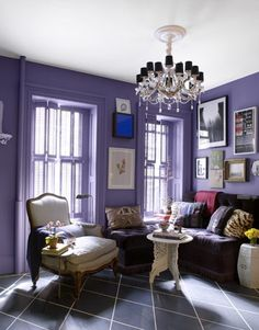 wonderful purple living room themes color ideas : fabulous purple