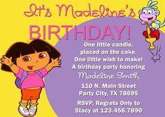 Dora Birthday Party!