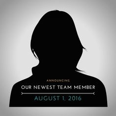 theNeatNiche announces their newest team member - August 1st, 2016! Stay tuned!