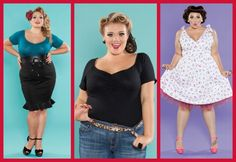 where to shop for plus size pin up clothing