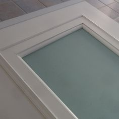 Customise a hollow core door with glass panel