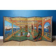 Large Japanese Edo Period Six-Fold Screen | Lawton Mull  EVERYTHING