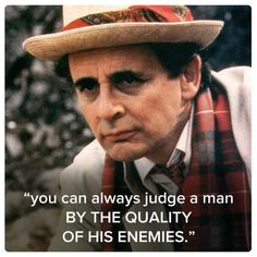 Seventh Doctor (Sylvester McCoy) | 11 Best Quotes Of The First 11 Doctors