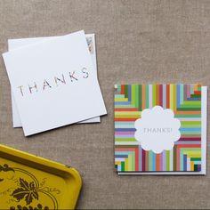 "The Nimbus Collection -  ""Thank You"" Card Collection $13"