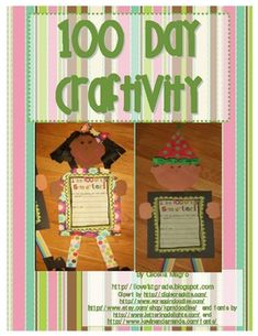 This 9 page document includes all you need to make this darling craftivity.  Writing prompts {choice of 2}, templates and directions are in this unit.