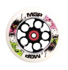 MGP 110-mm End of Days Aero Scooter Wheel-White PU with Black Core by MGP. $46.74. MGP 110 mm alloy core wheel with K-2 Bearing and End of Days Graphic