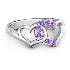 Connecting Hearts Ring #jewlr