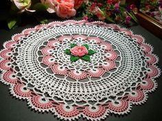 Click to view pattern for - Crochet napkin