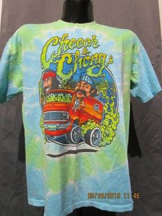 d2e4c09fb Cheech and Chong Smokin Ride Tee Shirt T shirt Size L #fashion #clothing #