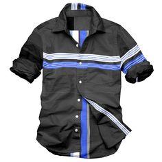 Men's Fashion Casual Shirts | mens fashion cheap shirts designer shirts mens casual men clothing ...