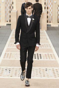 Look 39 from the Louis Vuitton Men's Spring/Summer 2014 Fashion Show. ©Louis Vuitton / Ludwig Bonnet