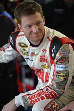 Dale Jr. at yesterday's Coca-Cola 600!