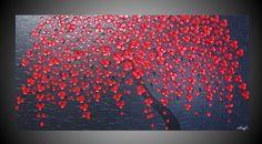 XXL Abstract Acrylic Painting large Canvas Art by acrylkreativ, $379.00