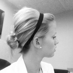 messy updo - I can never get my hair to look like Thai cause its so thick. I like it thick, but trying to figure out how to make it look like this :) Good Hair Day, Love Hair, Big Hair, Work Hairstyles, Pretty Hairstyles, Braided Hairstyles, Hairstyle Ideas, Natural Hair Styles, Short Hair Styles
