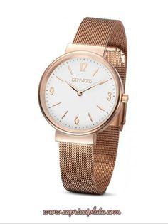 Reloj con brazalete de esterilla. Lo puedes encontrar en www.capricciplata.com y en  http://www.facebook.com/capricci.plata1  #reloj #moda #fashion #woman #shopping #blackfriday #tendencia #style