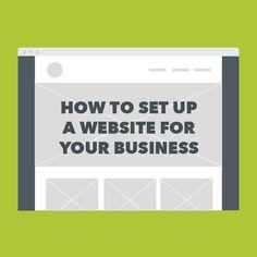 A freelancer's guide to starting a website (via @Freelancers Union)