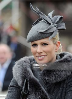 Zara Phillips attends the first day of the Cheltenham Festival horse races on March 2012 in Cheltenham, England. (Photo by Anwar Hussein/WireImage) Fascinator Hats, Fascinators, Cheltenham England, Timothy Laurence, Zara Hats, Mike Tindall, Zara Phillips, Princess Kate Middleton, Britain Uk