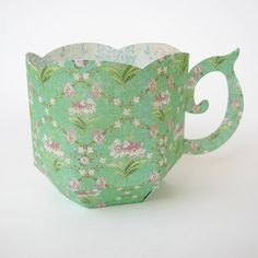 Cactus and Olive: Tea Cup