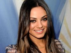 Ideas For Hair Balayage Brunette Straight Mila Kunis Oval Face Shapes, Oval Faces, Oval Shape, Cabelo Mila Kunis, Ombre Hair, Balayage Hair, Balayage Brunette, Oval Face Haircuts, Corte Y Color