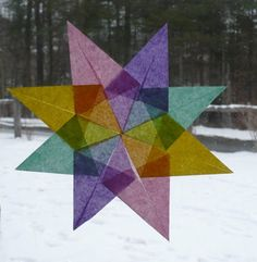 The Enchanted Tree: Paper Star Craft Tutorial