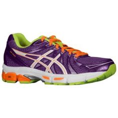 ASICS® Gel - Exalt - Women's - Plum/White/Flash Orange