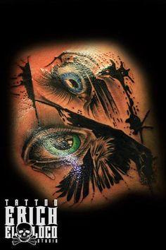 Tattoo Auge Eye Tattoo Artists, Tattoos, Movie Posters, Tatuajes, Tattoo, Film Poster, Billboard, Tattos, Film Posters