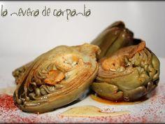 Receta Entrante : Alcachofas al ajo arriero por Carpanta