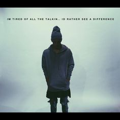 I hate all these rappers who talk about crap. NF shines light on it and does something.