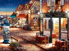 Una calle de Paris de John Obrien (520 pieces)
