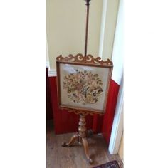 Victorian mahogany pole screen with tapestry. Victorian, Tapestry, Mirror, House, Furniture, Ideas, Home Decor, Hanging Tapestry, Home