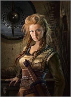 DeviantArt: More Like Lagertha Vikings by bucfan98
