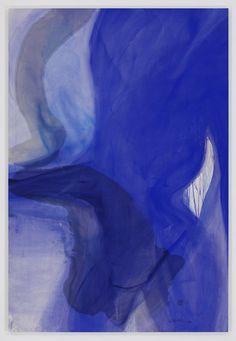 Fire by Days Blues IX - Rita Ackermann at Hauster & Wirth