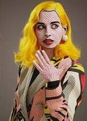 Like the treatment on the jacket for a Roy Litchtenstein costume!