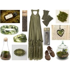 Treasures of the Forest Floor by maggiehemlock on Polyvore featuring Mode, Object Collectors Item, Bambeco, Juniper Ridge and For Strange Women