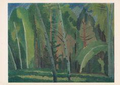 V. Shestakov Joy of Spring Postcard  1981 by RussianSoulVintage