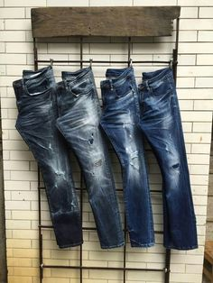 Find Jeans in Eastern Pretoria! Search Gumtree Free Classified Ads for Jeans and more in Eastern Pretoria. Raw Denim, Denim Jeans Men, Jeans Pants, Foto Fashion, Denim Fashion, Denim Display, Clothing Photography, Denim Outfit, Vintage Jeans